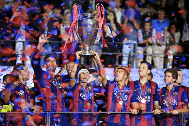 Soccer - UEFA Champions League - Final - Juventus v Barcelona - Olympiastadion