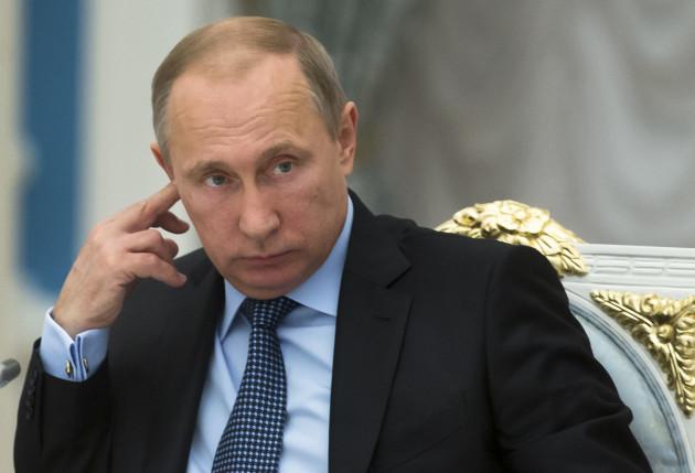 CORRECTION Russia Putin