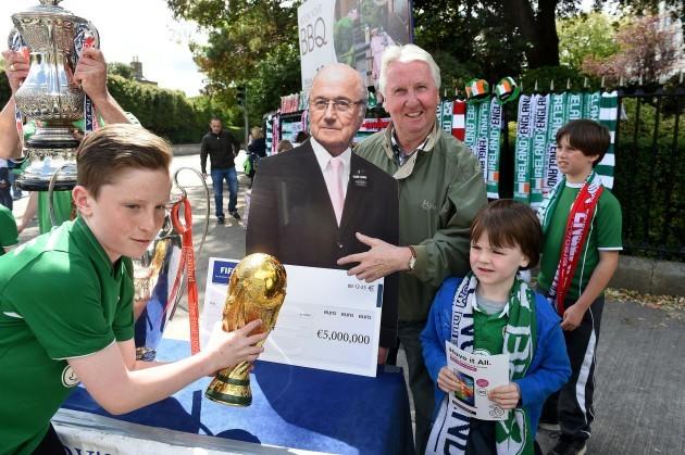 Soccer - International Friendly - Republic of Ireland v England - Aviva Stadium