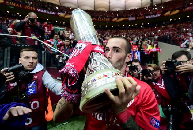 Soccer - UEFA Europa League - Final - Dnipro Dnipropetrovsk v Sevilla - Stadion Narodowy
