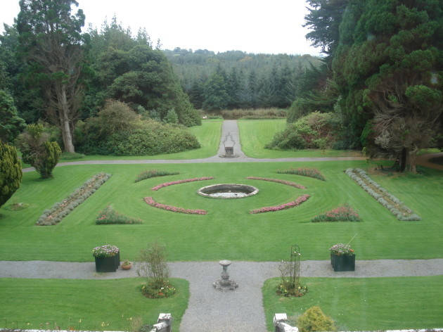 Castle-garden