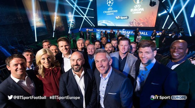 Bt Sport champions League