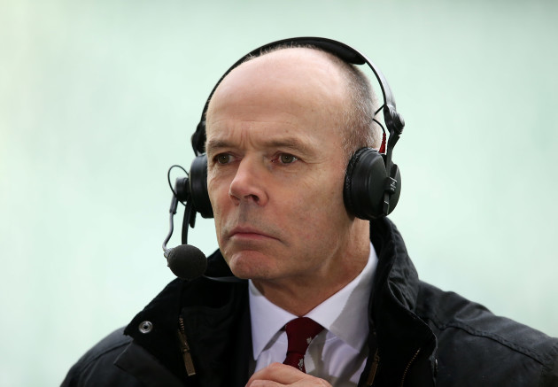 Sky Sports TV television Sir Clive Woodward   29/11//2014