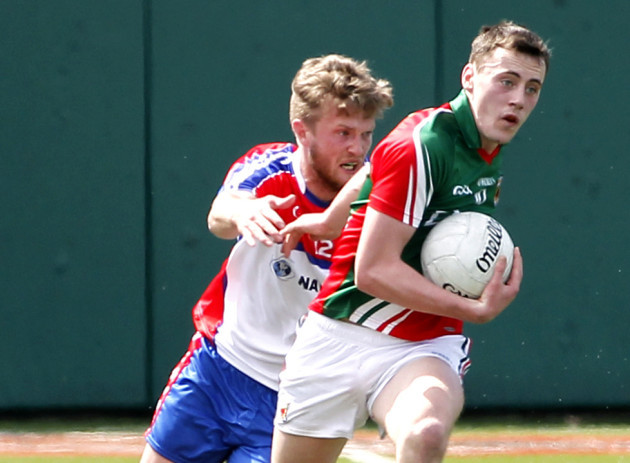 Ross Wherity and Diarmuid O'Connor