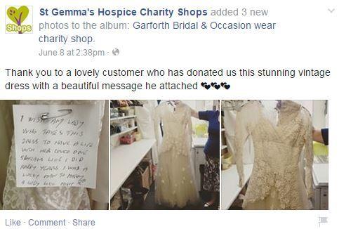 hospice dress