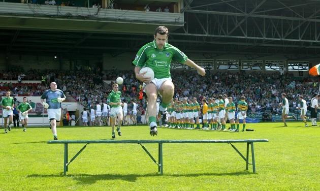 Limerick captain Muiris Gavin 19/6/2005