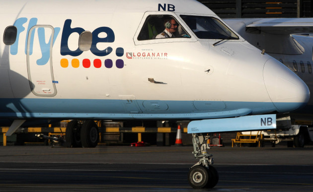 Flybe passenger numbers