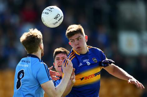 Steven O'Brien under pressure