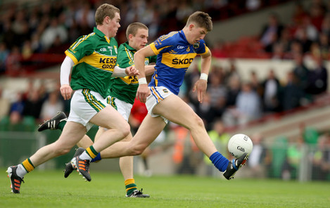 Greg Horan and Brian Crowley follow Steven O'Brien 8/7/2012