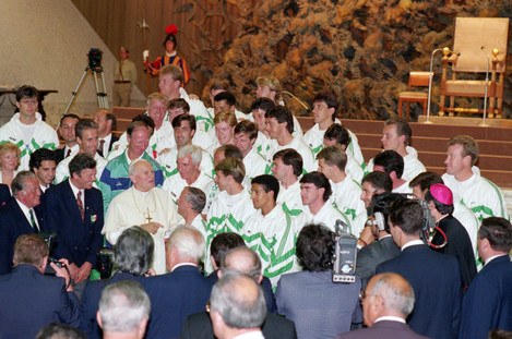 Soccer - World Cup - Italia 90 - Vatican