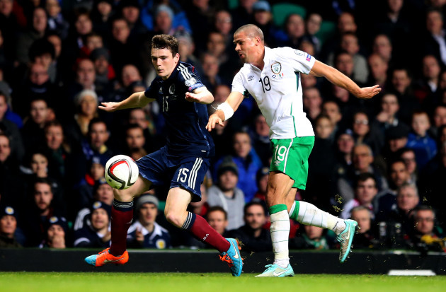 Andrew Robertson and Jon Walters