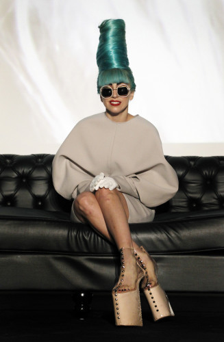 Lady Gaga Press Conference - Singapore