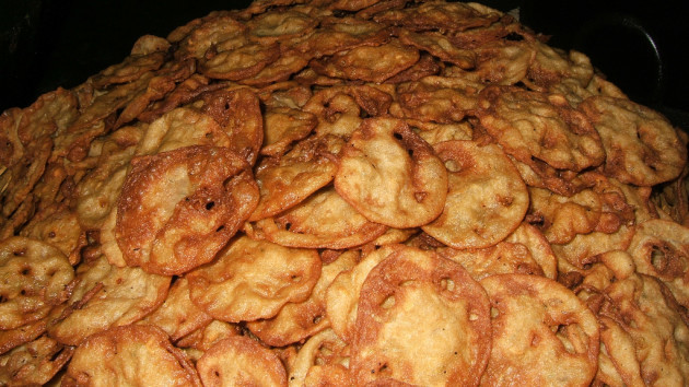 Chokhi Dhani: fried tortillas