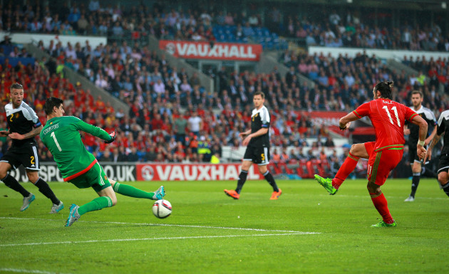 Soccer - UEFA European Championship Qualifying - Group B - Wales v Belgium - Cardiff City Stadium