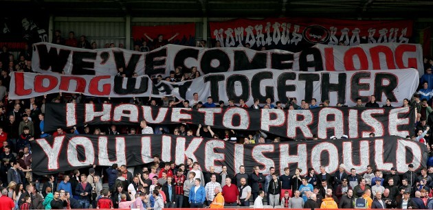 Bohs supporters