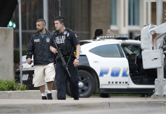 Dallas Police Headquarters Shooting