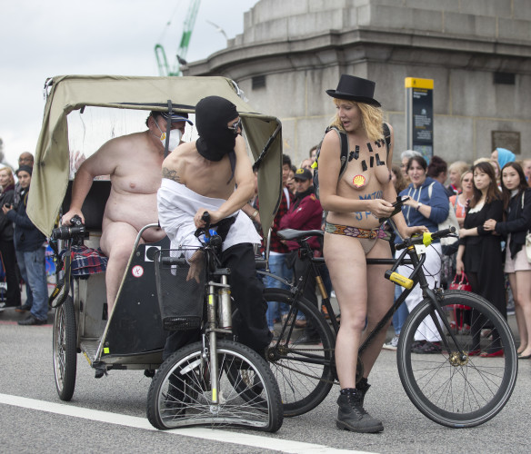 World Naked Bike Ride - London