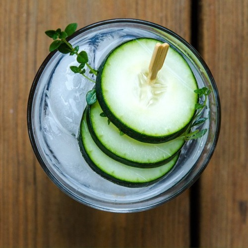 #WorldGinDay it's a real thing! #ginandtonic #cucumber #msbelly