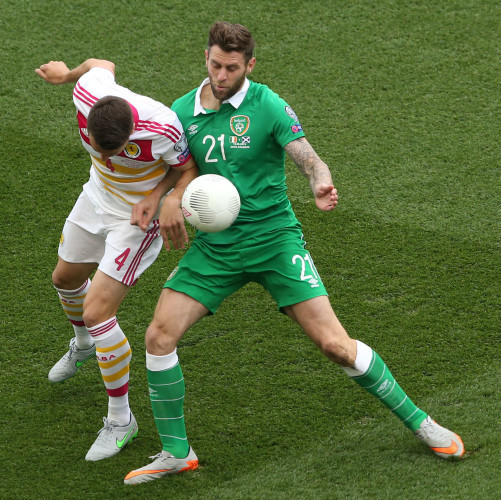 Russell Martin and Daryl Murphy