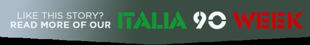 italia 90 banner