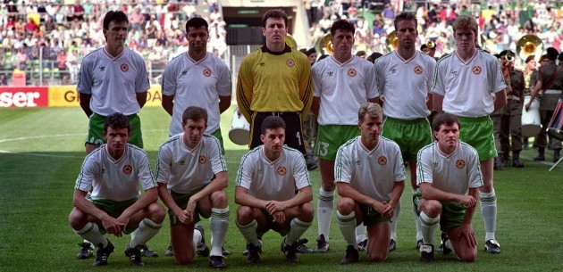 Soccer - World Cup Italia 90 - Ireland v Egypt
