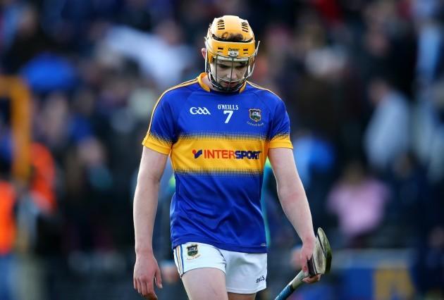 A dejected Ronan Maher