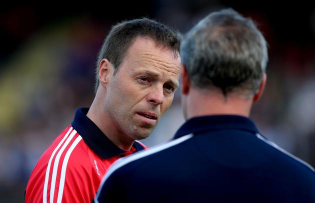 Cork U21 manager Damien Irwin.