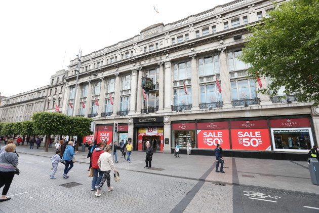 Clerys department store on O'Connell