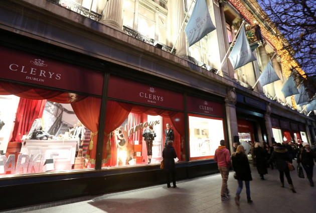 Clerys Shop Reopens