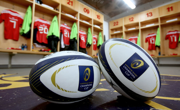 European Rugby Champions Cup match balls