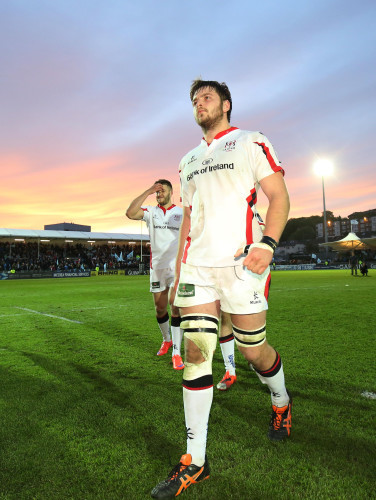 Iain Henderson dejected after the game