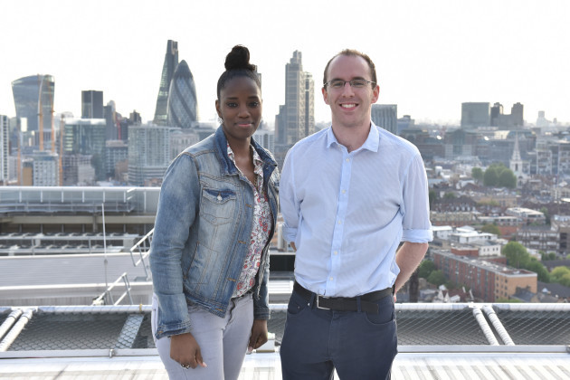 Patient Francita and medical student John Reidy_photographer credit Nigel Pacquette