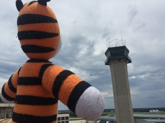 Checking out the FAA Air Traffic Control Tower ...