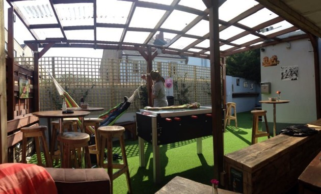 Back Page beer garden