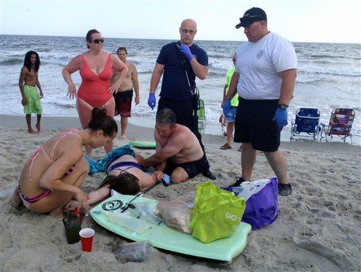 North Carolina Shark Attack