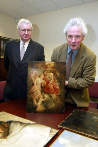 File Photo: Several paintings from the Beit Collection at Russborough House are to be sold in London. It is reported that some of those to be sold, include paintings recovered after they were stolen in major art robberies. End.