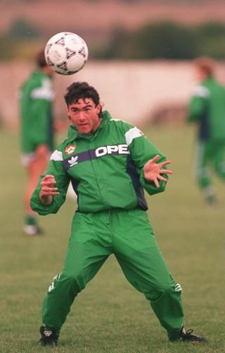 Soccer - Ireland Training - Malta