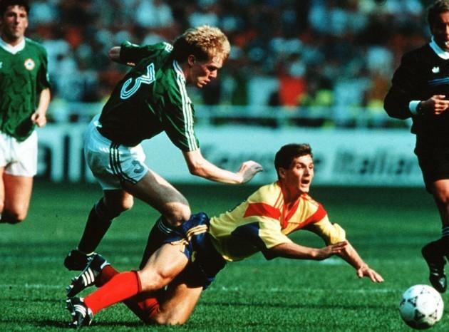 Steve Staunton 1990