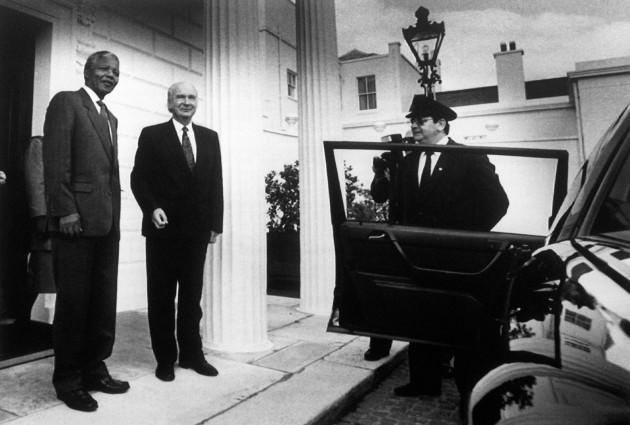 Politics - South Africa - Nelson Mandela - Dublin