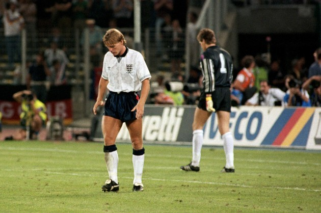 Soccer - World Cup Semi Final - England v West Germany