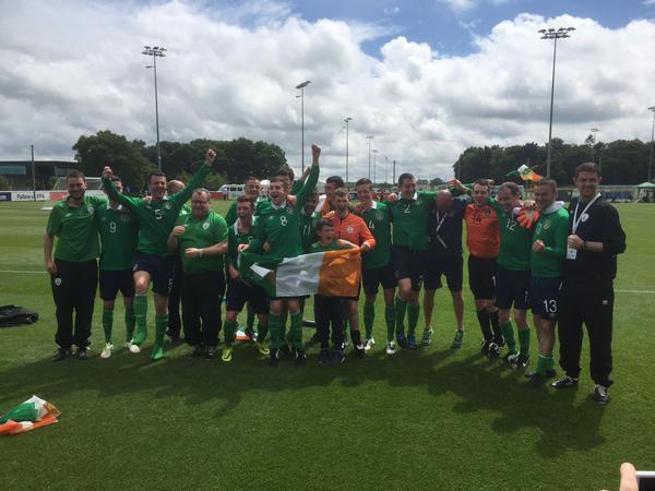 Ireland Cerebral Palsy team