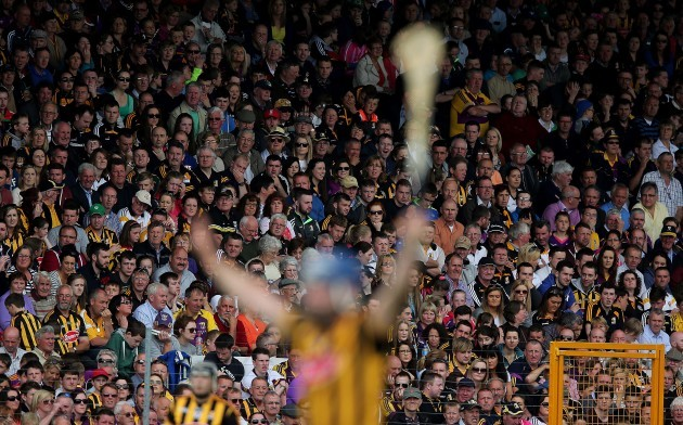 A view of the large crowd at Nowlan Park