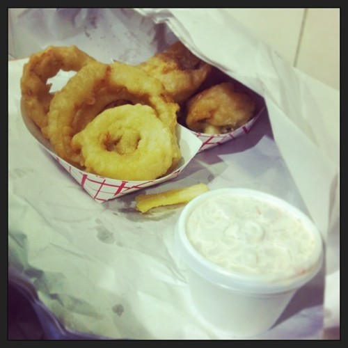 #onion #rings #jackie #lennox #cork #ireland #firsth #fishnchips #shop