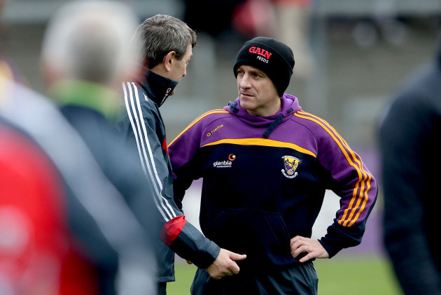 Jimmy Barry-Murphy and Liam Dunne