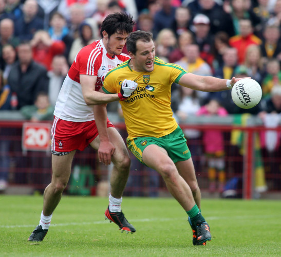 Michael Murphy and Chrissy McKaigue