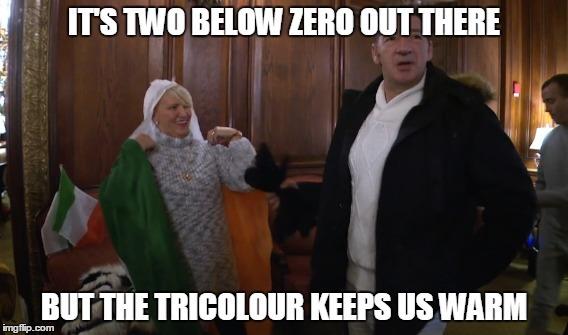 Tony Mcgregor tricolour meme
