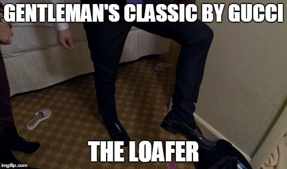 Tony McGregor loafer meme