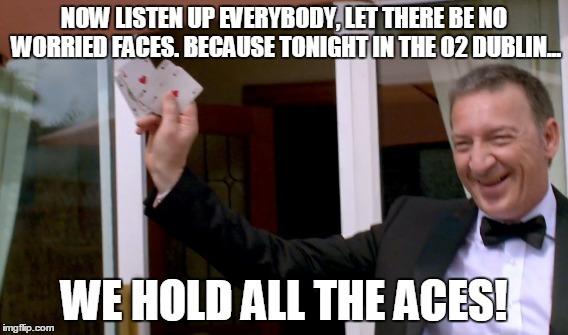 Tony McGregor aces meme