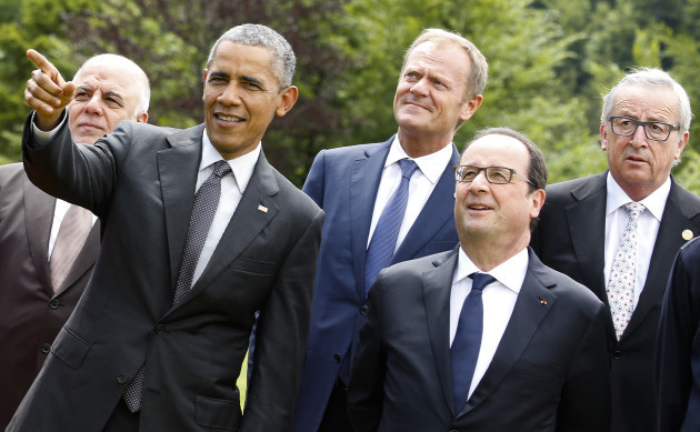 Germany G-7 Summit