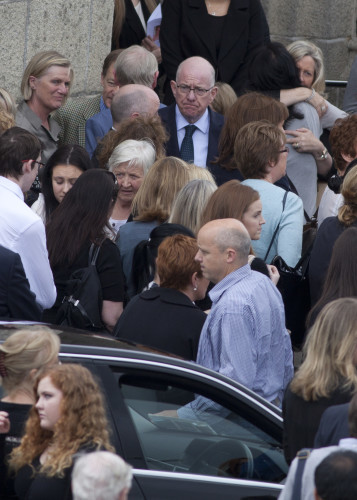 Funeral of Olivia Burke. The funeral of